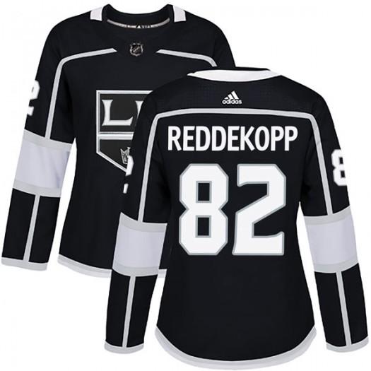 Chaz Reddekopp Los Angeles Kings Women's Adidas Authentic Black Home Jersey