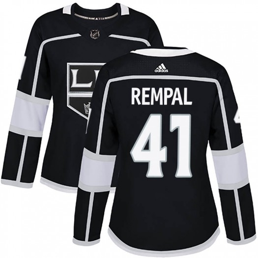 Sheldon Rempal Los Angeles Kings Women's Adidas Authentic Black Home Jersey