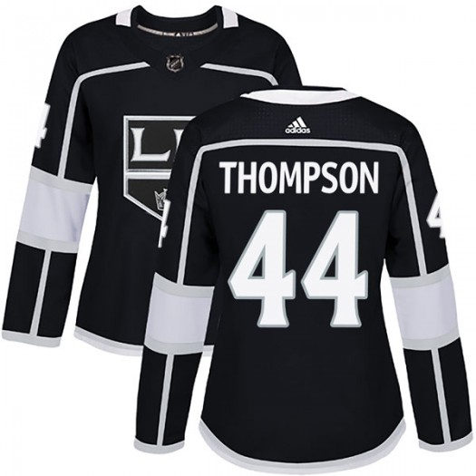 Nate Thompson Los Angeles Kings Women's Adidas Authentic Black Home Jersey