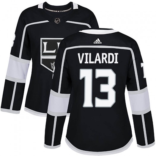 Gabriel Vilardi Los Angeles Kings Women's Adidas Authentic Black Home Jersey