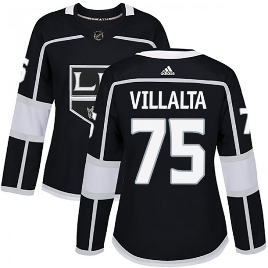 Matt Villalta Los Angeles Kings Women's Adidas Authentic Black Home Jersey