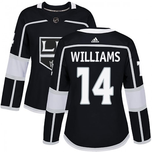 Justin Williams Los Angeles Kings Women's Adidas Authentic Black Home Jersey