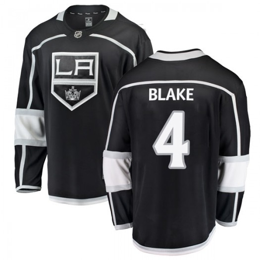 Rob Blake Los Angeles Kings Youth Fanatics Branded Black Breakaway Home Jersey