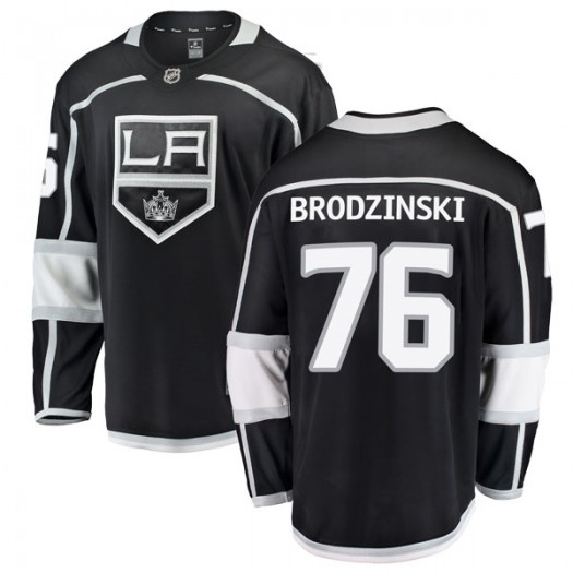 Jonny Brodzinski Los Angeles Kings Youth Fanatics Branded Black Breakaway Home Jersey