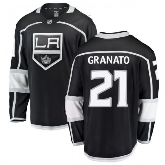 Tony Granato Los Angeles Kings Youth Fanatics Branded Black Breakaway Home Jersey