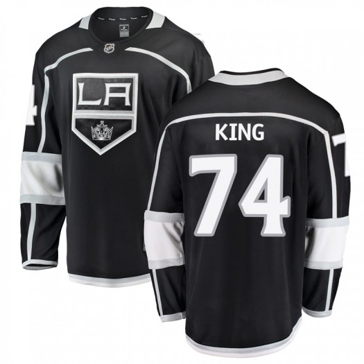 Dwight King Los Angeles Kings Youth Fanatics Branded Black Breakaway Home Jersey