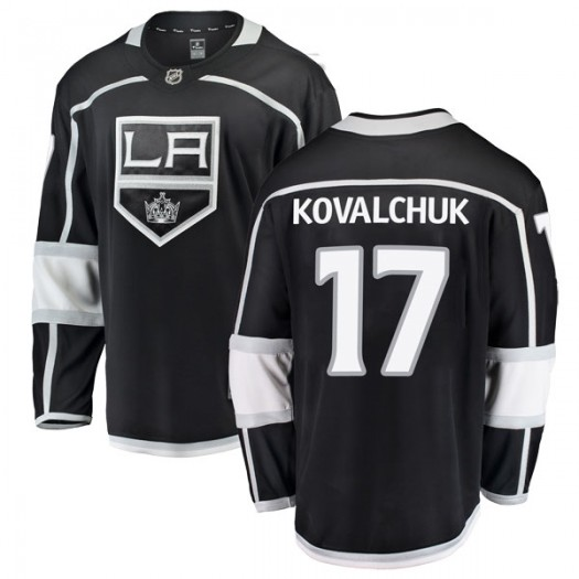 Ilya Kovalchuk Los Angeles Kings Youth Fanatics Branded Black Breakaway Home Jersey