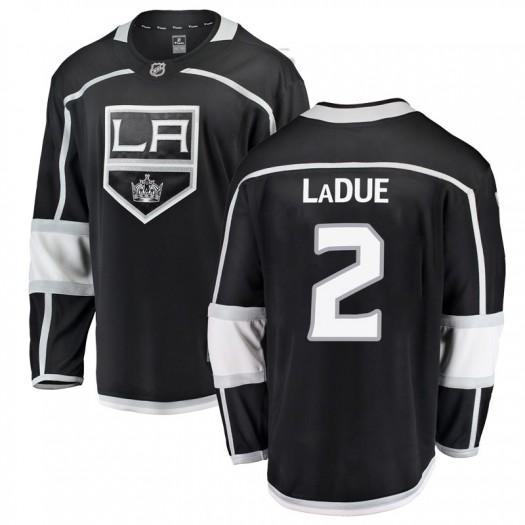 Paul LaDue Los Angeles Kings Youth Fanatics Branded Black Breakaway Home Jersey