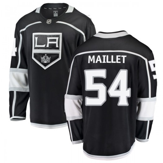 Philippe Maillet Los Angeles Kings Youth Fanatics Branded Black Breakaway Home Jersey