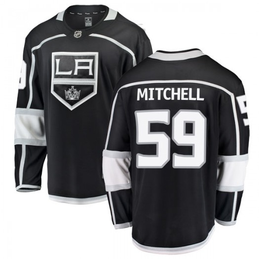 Zack Mitchell Los Angeles Kings Youth Fanatics Branded Black Breakaway Home Jersey