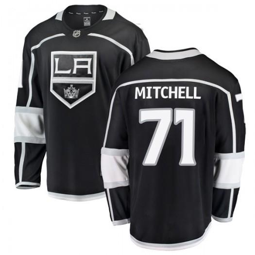 Torrey Mitchell Los Angeles Kings Youth Fanatics Branded Black Breakaway Home Jersey