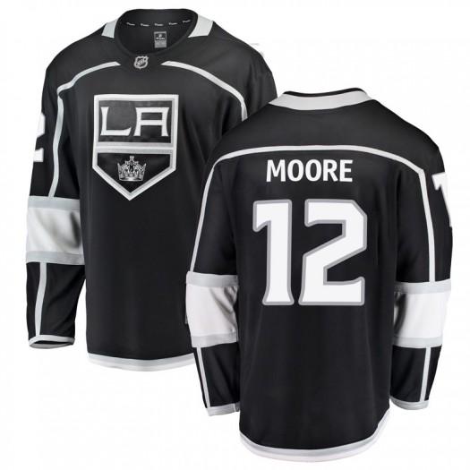 Trevor Moore Los Angeles Kings Youth Fanatics Branded Black Breakaway Home Jersey