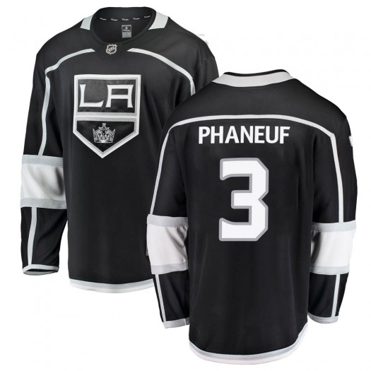 Dion Phaneuf Los Angeles Kings Youth Fanatics Branded Black Breakaway Home Jersey