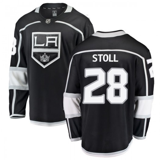Jarret Stoll Los Angeles Kings Youth Fanatics Branded Black Breakaway Home Jersey