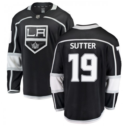 Brett Sutter Los Angeles Kings Youth Fanatics Branded Black Breakaway Home Jersey