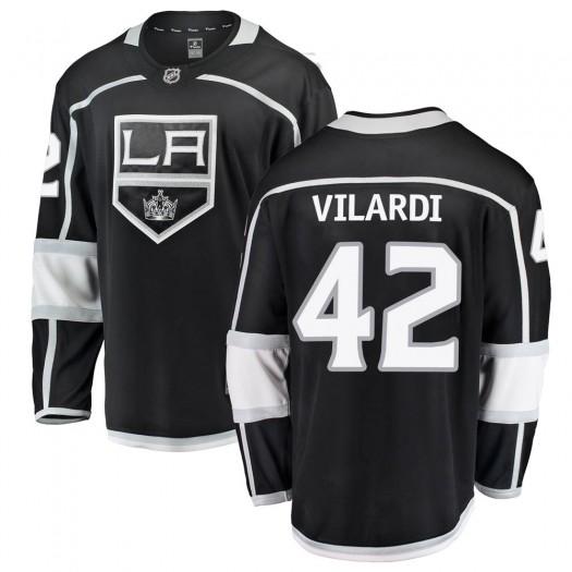 Gabriel Vilardi Los Angeles Kings Youth Fanatics Branded Black Breakaway Home Jersey