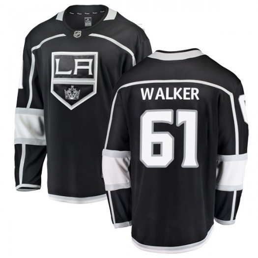Sean Walker Los Angeles Kings Youth Fanatics Branded Black Breakaway Home Jersey