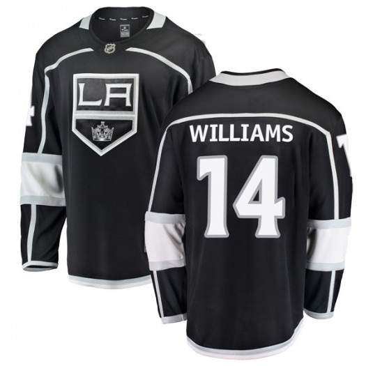 Justin Williams Los Angeles Kings Youth Fanatics Branded Black Breakaway Home Jersey