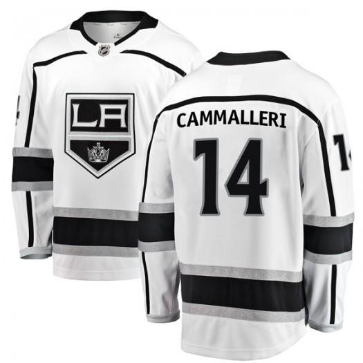 Mike Cammalleri Los Angeles Kings Youth Fanatics Branded White Breakaway Away Jersey