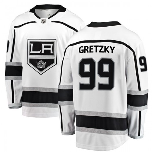 Wayne Gretzky Los Angeles Kings Youth Fanatics Branded White Breakaway Away Jersey