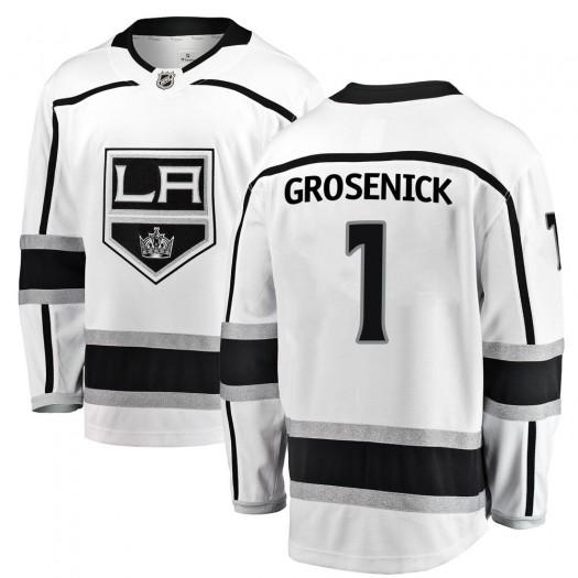 Troy Grosenick Los Angeles Kings Youth Fanatics Branded White Breakaway Away Jersey