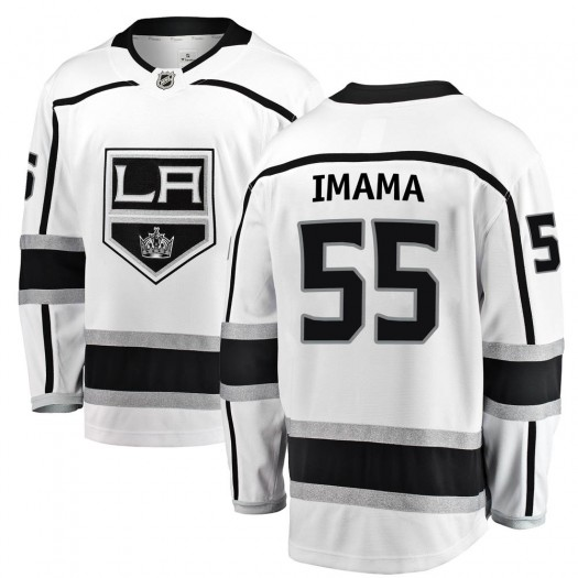 Boko Imama Los Angeles Kings Youth Fanatics Branded White Breakaway Away Jersey
