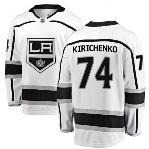 Clayton Kirichenko Los Angeles Kings Youth Fanatics Branded White Breakaway Away Jersey