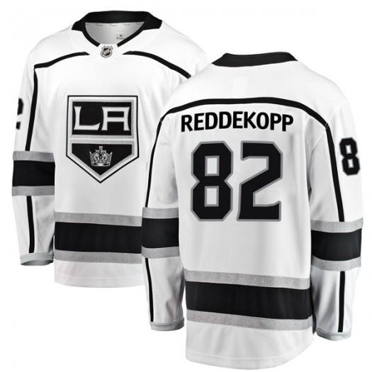 Chaz Reddekopp Los Angeles Kings Youth Fanatics Branded White Breakaway Away Jersey