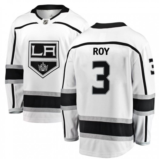 Matt Roy Los Angeles Kings Youth Fanatics Branded White Breakaway Away Jersey