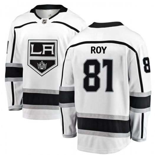 Matt Roy Los Angeles Kings Youth Fanatics Branded White Breakaway Away Jersey