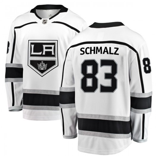 Matt Schmalz Los Angeles Kings Youth Fanatics Branded White Breakaway Away Jersey
