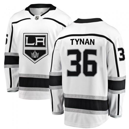 T.J. Tynan Los Angeles Kings Youth Fanatics Branded White Breakaway Away Jersey