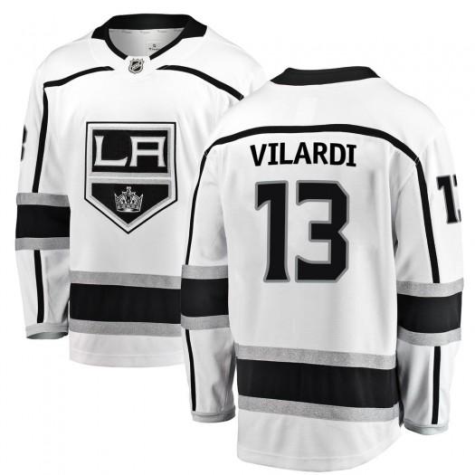 Gabriel Vilardi Los Angeles Kings Youth Fanatics Branded White Breakaway Away Jersey