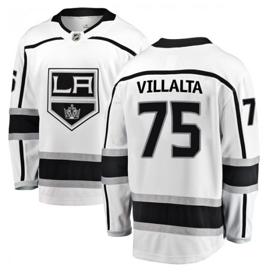 Matt Villalta Los Angeles Kings Youth Fanatics Branded White Breakaway Away Jersey