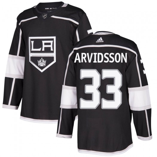 Viktor Arvidsson Los Angeles Kings Youth Adidas Authentic Black Home Jersey