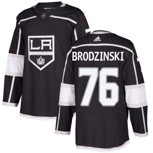 Jonny Brodzinski Los Angeles Kings Youth Adidas Authentic Black Home Jersey