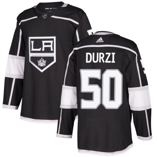 Sean Durzi Los Angeles Kings Youth Adidas Authentic Black Home Jersey