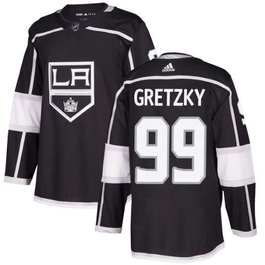 Wayne Gretzky Los Angeles Kings Youth Adidas Authentic Black Home Jersey