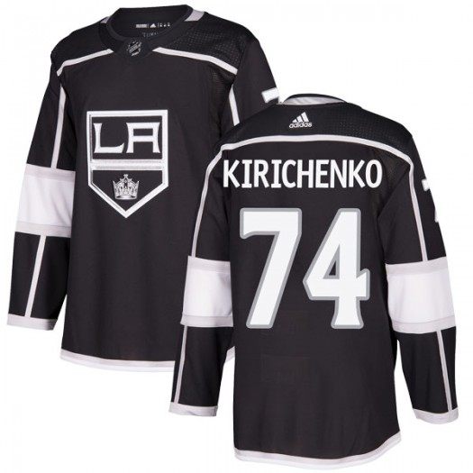 Clayton Kirichenko Los Angeles Kings Youth Adidas Authentic Black Home Jersey