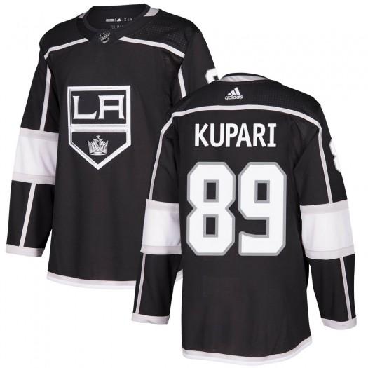 Rasmus Kupari Los Angeles Kings Youth Adidas Authentic Black Home Jersey