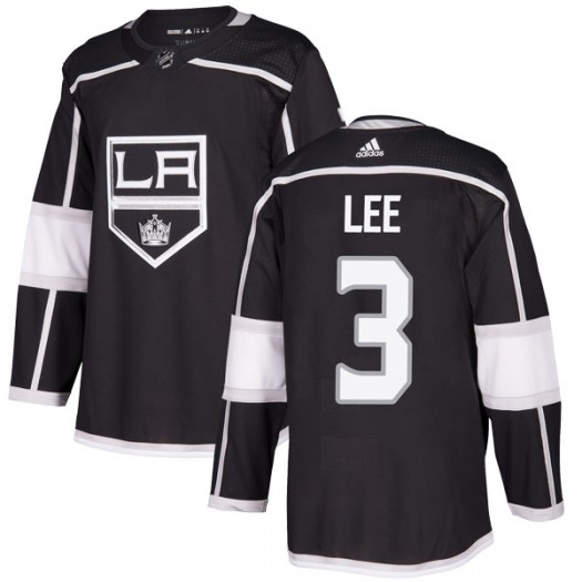 Chris Lee Los Angeles Kings Youth Adidas Authentic Black Home Jersey