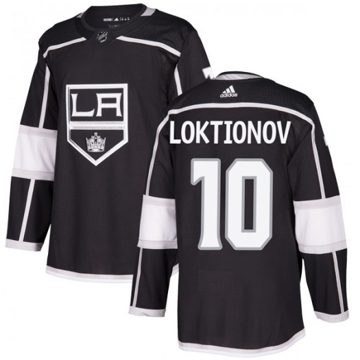 Andrei Loktionov Los Angeles Kings Youth Adidas Authentic Black Home Jersey