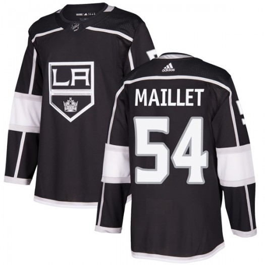 Philippe Maillet Los Angeles Kings Youth Adidas Authentic Black Home Jersey