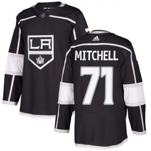 Torrey Mitchell Los Angeles Kings Youth Adidas Authentic Black Home Jersey