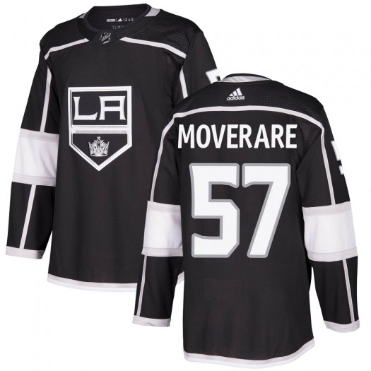 Jacob Moverare Los Angeles Kings Youth Adidas Authentic Black Home Jersey