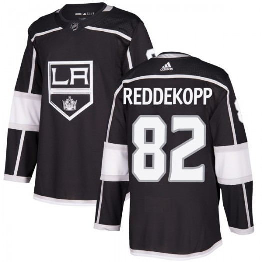Chaz Reddekopp Los Angeles Kings Youth Adidas Authentic Black Home Jersey