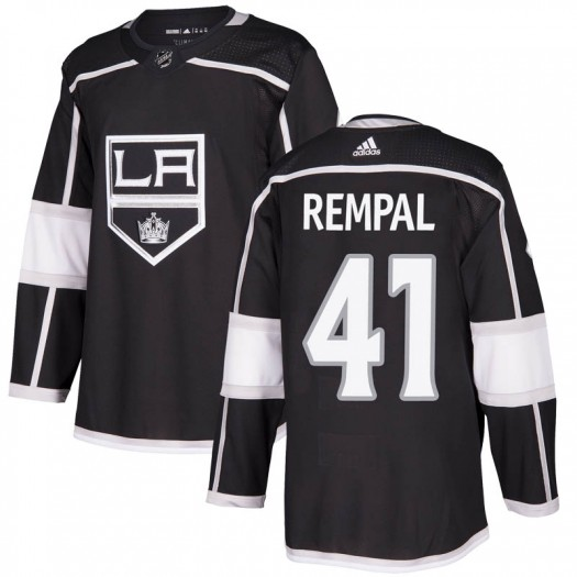 Sheldon Rempal Los Angeles Kings Youth Adidas Authentic Black Home Jersey
