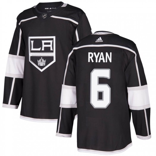 Joakim Ryan Los Angeles Kings Youth Adidas Authentic Black Home Jersey