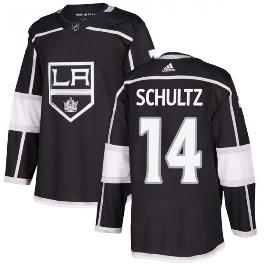 Dave Schultz Los Angeles Kings Youth Adidas Authentic Black Home Jersey