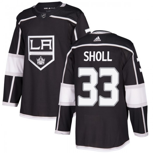 Tomas Sholl Los Angeles Kings Youth Adidas Authentic Black Home Jersey
